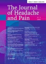 The Journal of Headache and Pain 5/2010