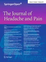 The Journal of Headache and Pain 1/2011