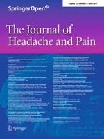 The Journal of Headache and Pain 3/2011