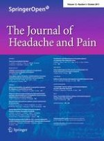 The Journal of Headache and Pain 5/2011