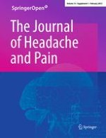 The Journal of Headache and Pain 1/2012
