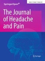 The Journal of Headache and Pain 7/2012