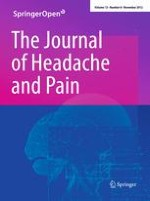 The Journal of Headache and Pain 8/2012