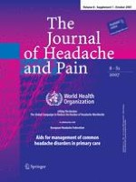 The Journal of Headache and Pain 1/2007