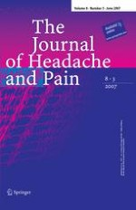 The Journal of Headache and Pain 3/2007