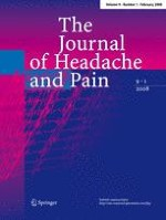 The Journal of Headache and Pain 1/2008