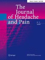 The Journal of Headache and Pain 2/2008