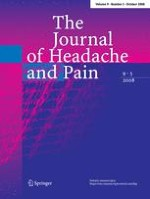 The Journal of Headache and Pain 5/2008
