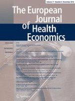 The European Journal of Health Economics 8/2016