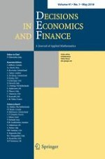 Decisions in Economics and Finance 1/2018
