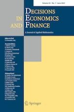 Decisions in Economics and Finance 1/2020