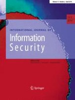 International Journal of Information Security 2/2014