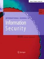International Journal of Information Security 5/2014