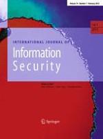 International Journal of Information Security 1/2015