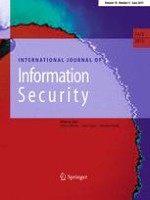International Journal of Information Security 3/2015