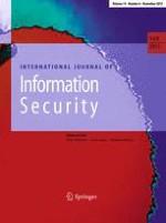 International Journal of Information Security 6/2015