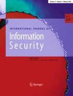 International Journal of Information Security 1/2018