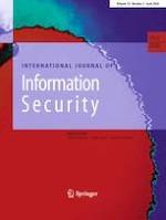 International Journal of Information Security 3/2020