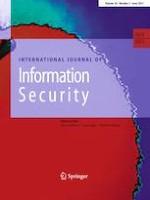 International Journal of Information Security 3/2021