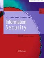 International Journal of Information Security 5/2009