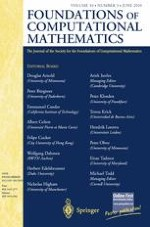 Foundations of Computational Mathematics 3/2010
