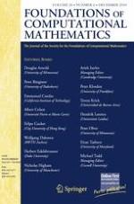 Foundations of Computational Mathematics 6/2010