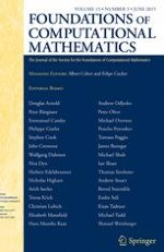 Foundations of Computational Mathematics 3/2015