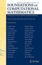Foundations of Computational Mathematics 4/2017