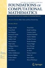 Foundations of Computational Mathematics 3/2018