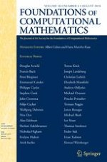 Foundations of Computational Mathematics 4/2018