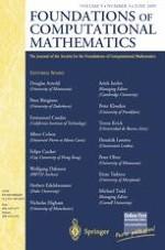 Foundations of Computational Mathematics 3/2009