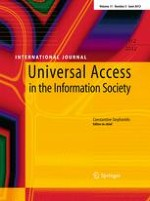 Universal Access in the Information Society 2/2012
