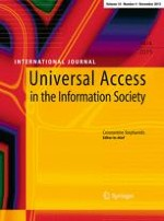 Universal Access in the Information Society 4/2015