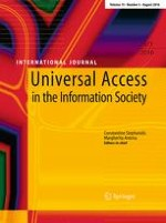 Universal Access in the Information Society 3/2016