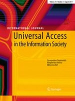 Universal Access in the Information Society 3/2017