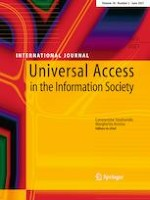 Universal Access in the Information Society 2/2021