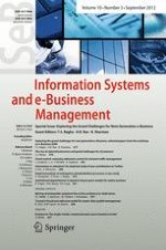 Information Systems and e-Business Management 3/2012