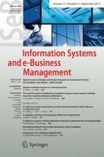 Information Systems And E Business Management 3 2013