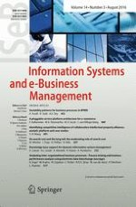 Information Systems and e-Business Management 3/2016