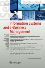 Information Systems and e-Business Management 1/2017