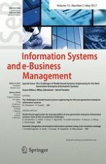 Information Systems and e-Business Management 2/2017
