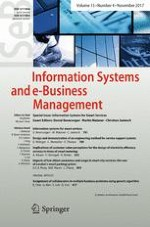 Information Systems and e-Business Management 4/2017