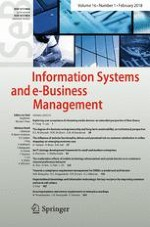 Information Systems and e-Business Management 1/2018