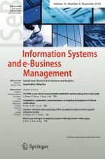 Information Systems and e-Business Management 4/2018