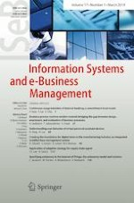 Information Systems and e-Business Management 1/2019