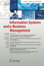 Information Systems and e-Business Management 1/2009