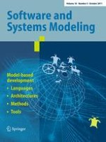 Software & Systems Modeling 4/2011