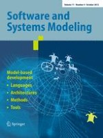 Software & Systems Modeling 4/2012
