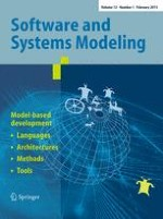 Software & Systems Modeling 1/2013