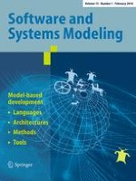 Software & Systems Modeling 1/2016